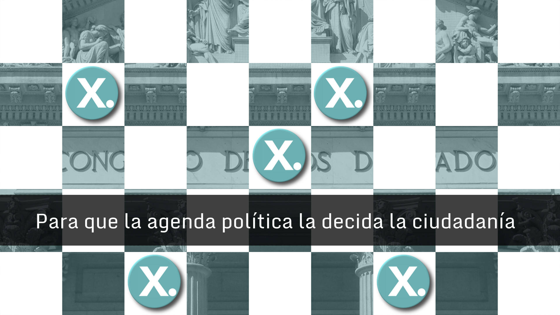 Para que la agenda politica la marque la ciudadania