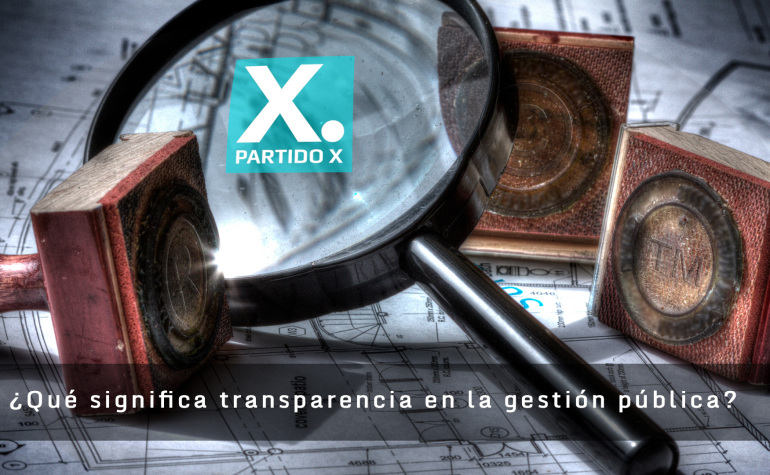 Sobre la ley de transparencia ¿Qué es la transparencia en la gestión pública para nuestros gobiernos?