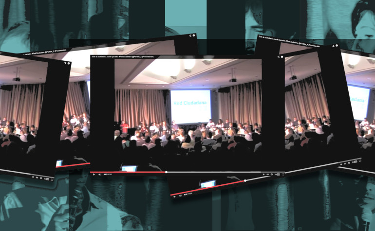 Presentación de la #RedCiudadana – vídeo y material generado