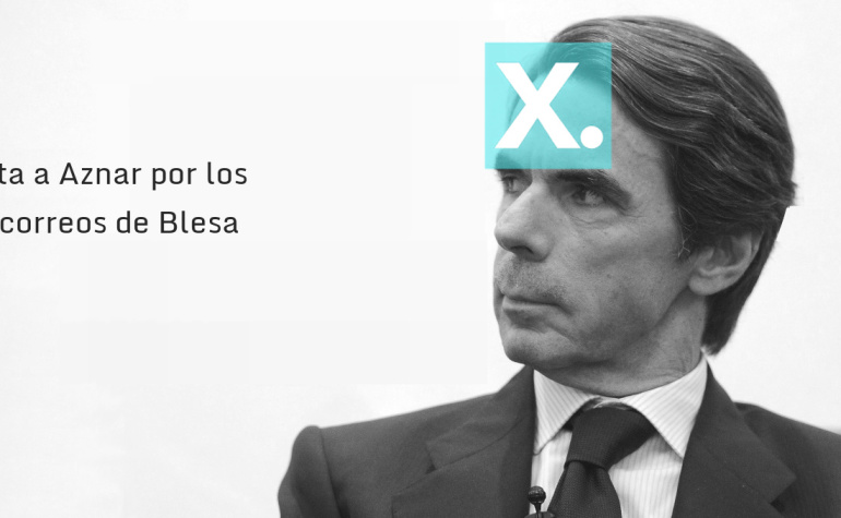 Carta a Aznar por los correos de Blesa
