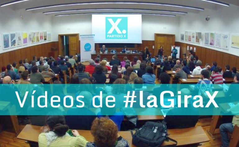 Recopilatorio de vídeos de #laGiraX