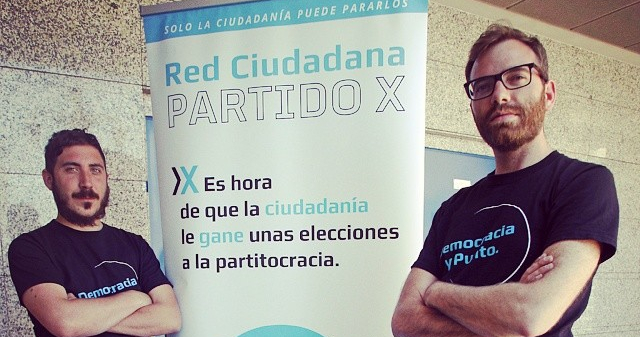 Parido X contra la partitocracia