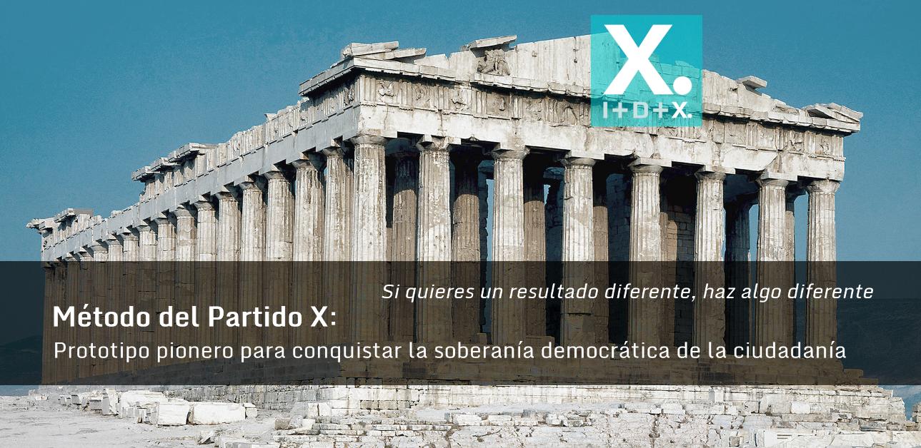 Método del Partido X: I+D+X
