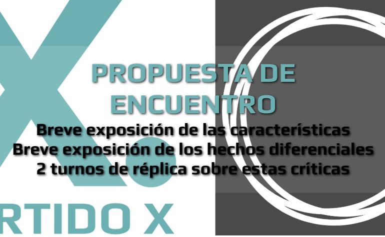Propuesta de encuentro abierto entre la Red Ciudadana Partido X y Podemos