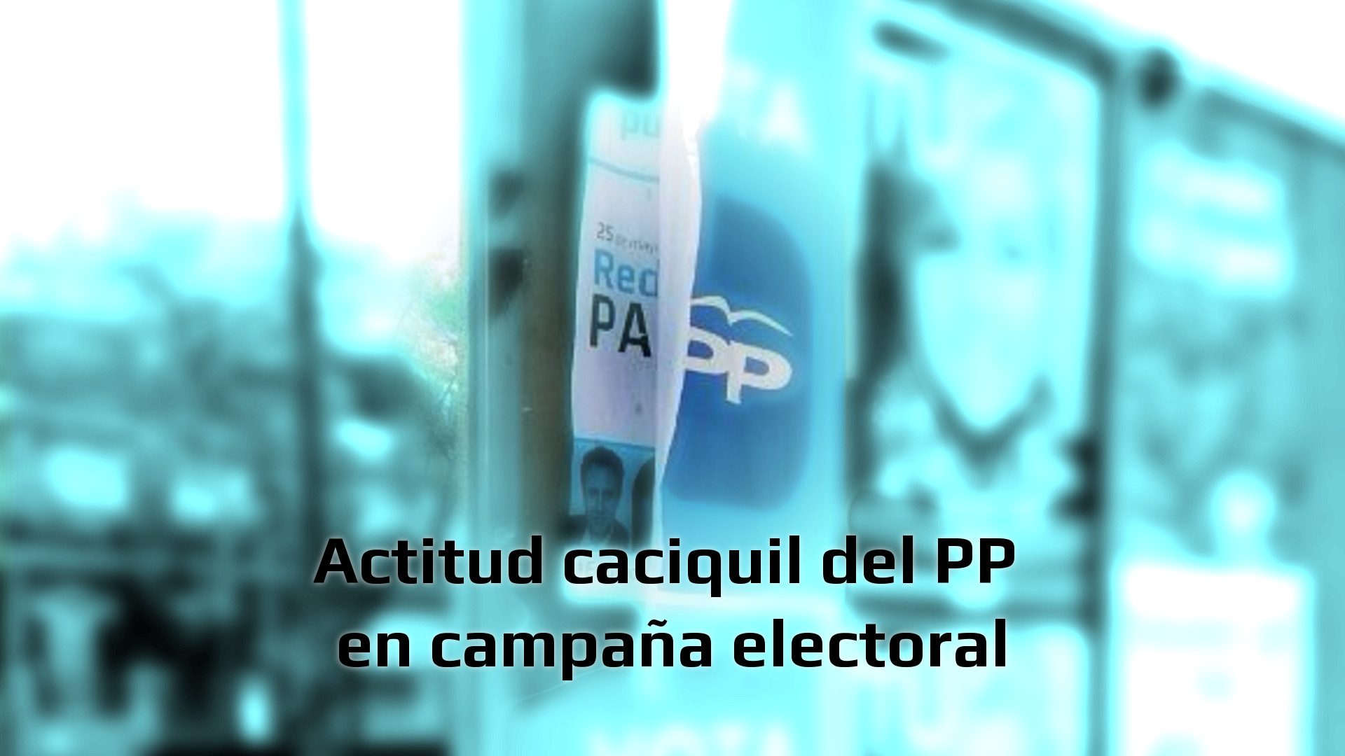 Actitud caciquil pp