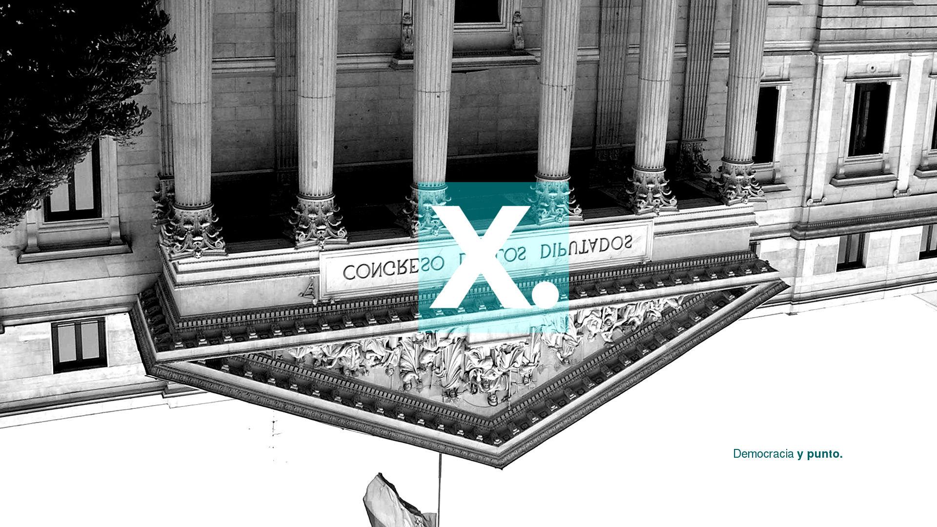 Partido X: Democracia y Punto en el congreso