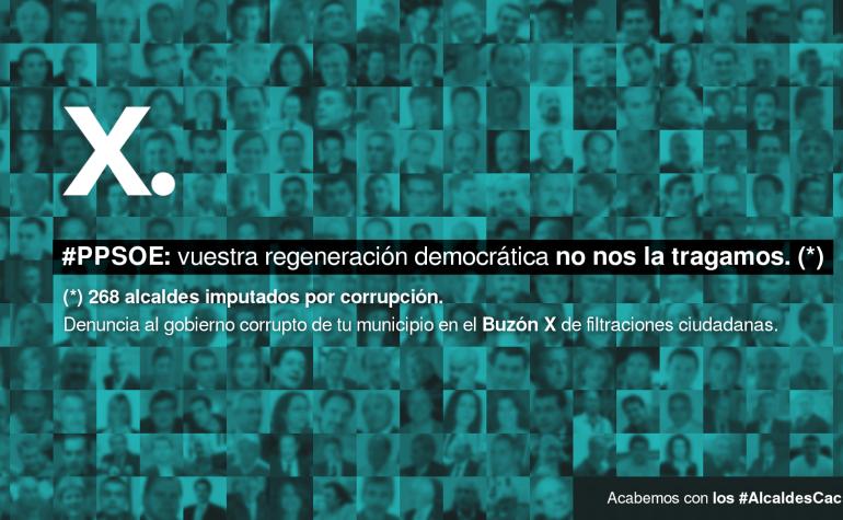 Invitamos a la ciudadanía a denunciar a #AlcaldesCaciques y gobiernos corruptos de sus municipios en el BuzónX de Filtraciones Ciudadanas