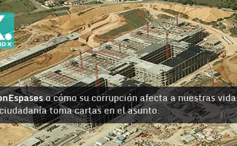 Partido X actúa contra la corrupción en el caso Son Espases