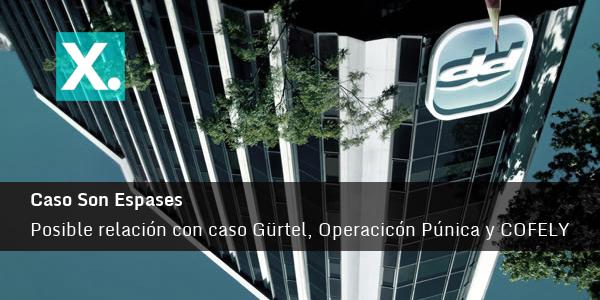 Caso Son Espases, Gürtel. Operación Púnica y COFELY
