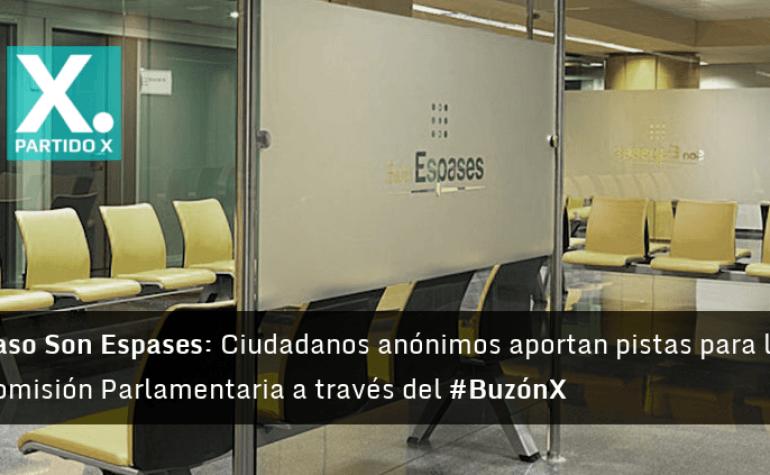 A través del BuzónX, ciudadanos anónimos aportan pistas para la Comisión Parlamentaria del caso del Hospital Son Espases