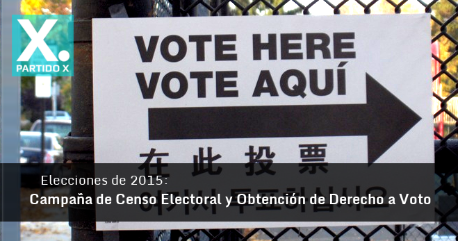Voto Extranjero Elecciones 2015