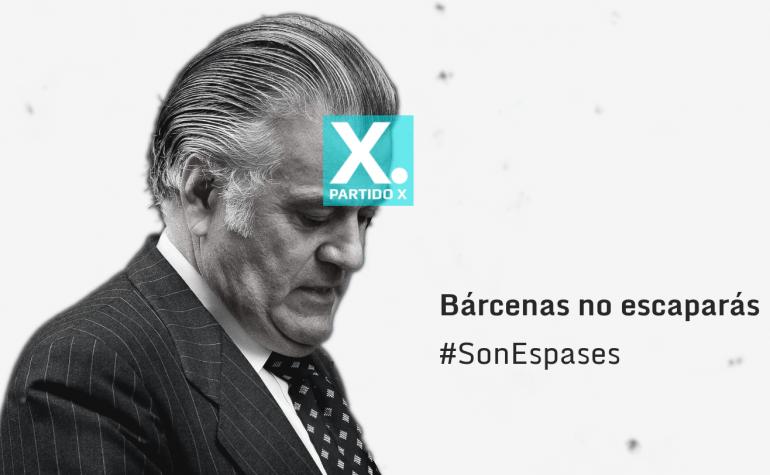 #SonEspases, Bárcenas no escaparás