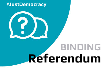 Binding Referendum - Just Democracy