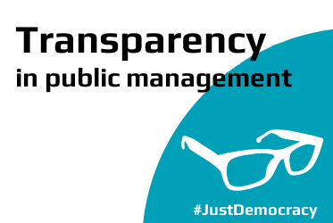 Transparency in public management - Just Democracy
