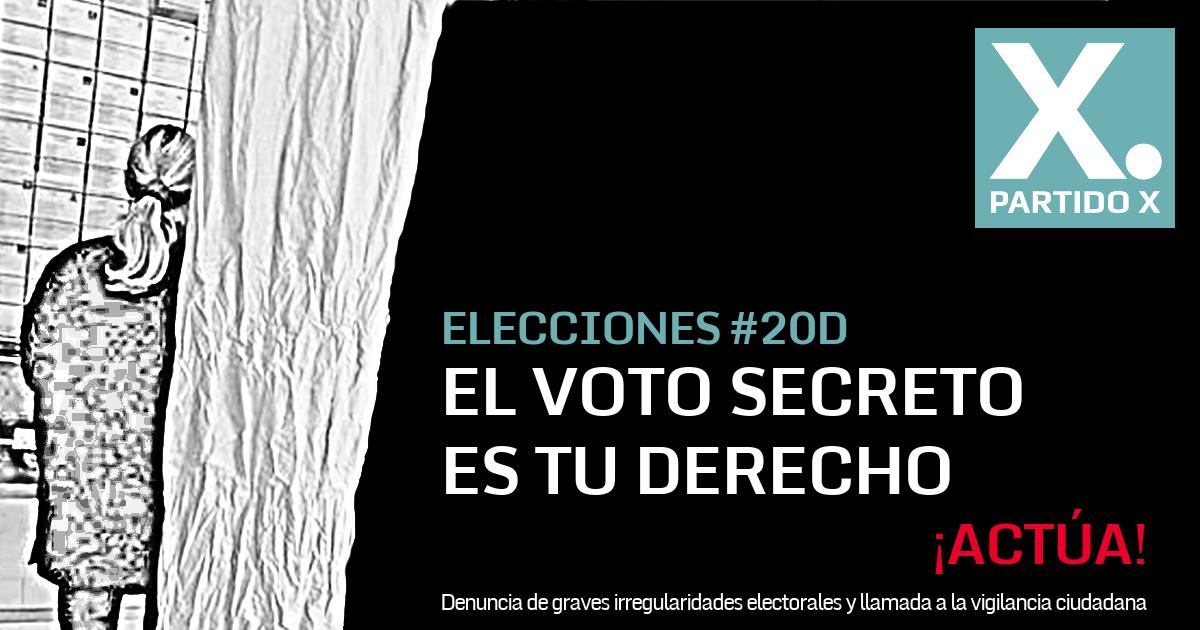 El Voto Secreto es tu derecho