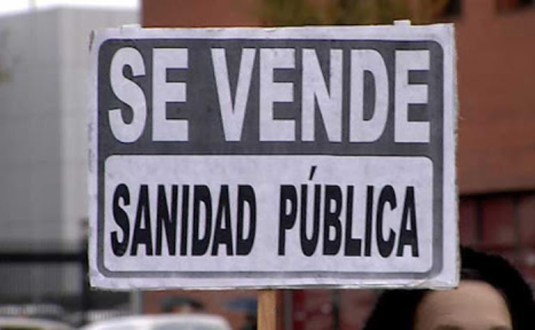 Sin la derogación de las leyes privatizadoras, las conclusiones de la Comisión para la Reconstrucción de la Sanidad pública son solo propaganda.